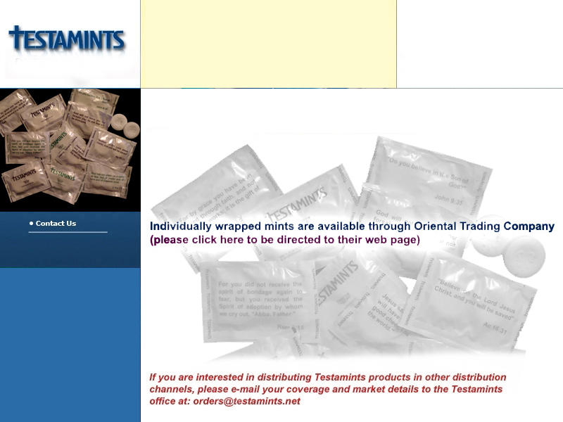 Testamints.net is the best place to find product updates...